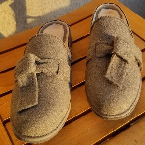 BearPaw Grey Slippers